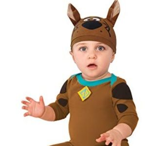 Scooby Doo Infant Costume Size 12-18M